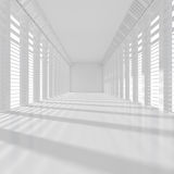 Long White Room Stock Photography