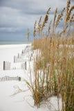 A long White sandy coastline Stock Photo