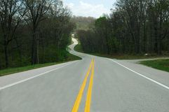Long Winding Road Royalty Free Stock Photos