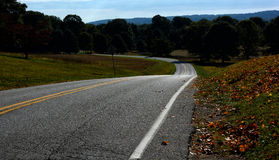 Long and Winding Road Royalty Free Stock Photography