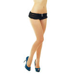 Long woman legs Royalty Free Stock Photo