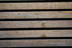 Long wooden brown planks Royalty Free Stock Photos