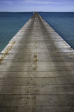 Long wooden Jetty Stock Image
