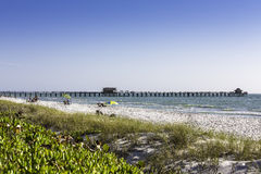 Naples Pier in Naples, Florida Stock Images