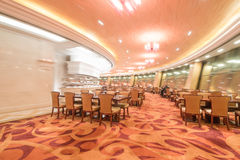 Long Xi Hotel Huaxi Village revolving restaurant interior Figure. Eastphoto, tukuchina, Long Xi Hotel Huaxi Village revolving restaurant interior Figure Royalty Free Stock Image