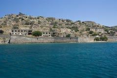 Longa della spina dell'isola della Grecia Fotografia Stock