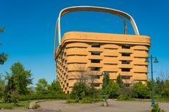 Longaberger巨人篮子 图库摄影