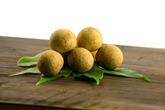 Longan Φρέσκα longan φρούτα Στοκ Εικόνες