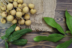 Longan is delicious  fruit Stock Photography