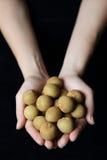 Longan dourado Fotografia de Stock