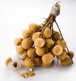 Longan - exotisch fruit Stock Afbeelding