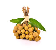 Longan. fresh longan on the background. Delicious,asia,herb Stock Image