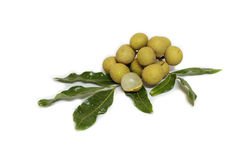 Longan. fresh longan Stock Photos