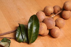 Longan Fruit. Longan, native to southern China, taste similar to lychee Royalty Free Stock Photography