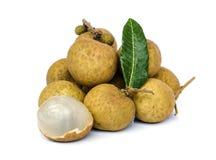 Longan  fruit . Royalty Free Stock Photo