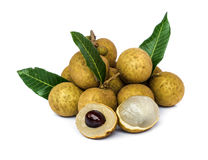 Longan  fruit . Royalty Free Stock Image