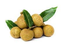 Longan  fruit . Stock Photos