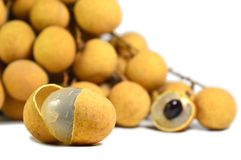 Longan fruit Royalty Free Stock Photo