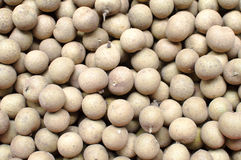Longan in fruit market Stock Images