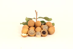 Longan fruit most likely interrupt you. Stock Photo