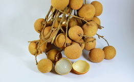 Longan fruit Thai fruit Stock Photos