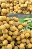 Longan fruit, Thailand fruit Stock Photos