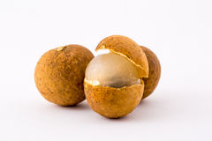 Longan fruit from Thailand Royalty Free Stock Photography