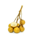 Longan fruit Stock Photo
