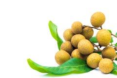 Longan fruits Stock Photos