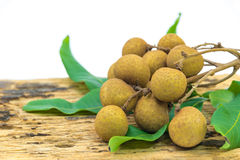 Longan fruits Royalty Free Stock Image