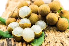 Longan fruits Stock Images