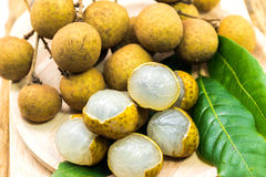 Longan fruits Royalty Free Stock Photos