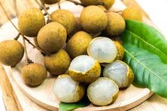 Longan fruits Royalty Free Stock Images