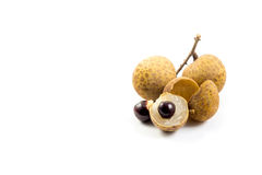 Longan fruits Royalty Free Stock Photos