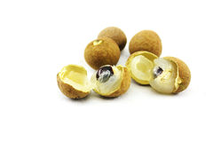 Longan isolated Royalty Free Stock Images