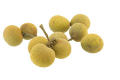 Longan isolated Stock Images