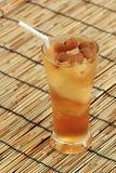 Longan juice cold water Stock Image