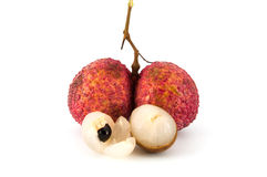 Longan and litchi Stock Image
