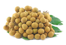 Longan Thai fruit Stock Photo