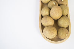 Longan Thai tropical fruit herb sweet closeup concept Stock Photo