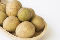 Longan Thai tropical fruit herb sweet closeup concept Stock Images