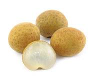 Longan tropical fruit Stock Photography