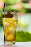 Longan water. Royalty Free Stock Image