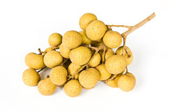 Longan on white background Stock Image
