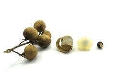Longanfruit Stock Afbeeldingen