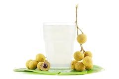Longanfruktsaft Fotografering för Bildbyråer