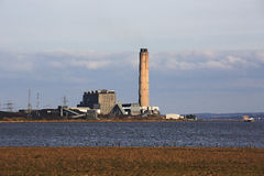 Longannet power station Royalty Free Stock Image