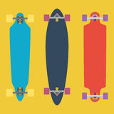 Longboard flat Stock Images