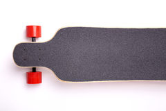 Longboard isolated on white background Stock Photo