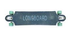Longboard wierzchołek Zdjęcie Royalty Free